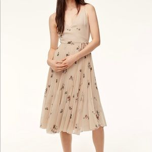 Aritiza Wilfred Braine Pleated Wrap Dress
